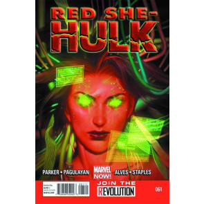 RED SHE-HULK #61 VF/NM MARVEL NOW!