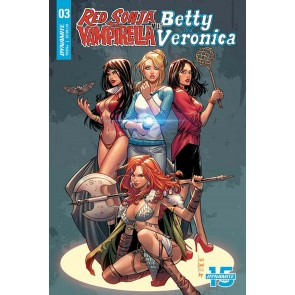 Red Sonja and Vampirella Meet Betty and Veronica (2019) #3 VF/NM Laura Braga