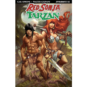 Red Sonja/Tarzan (2018) #2 VF/NM Sergio Davila Cover Dynamite