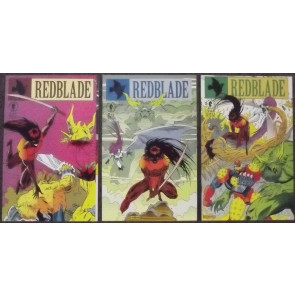 REDBLADE #'s 1, 2, 3 COMPLETE NM SET DARK HORSE COMICS
