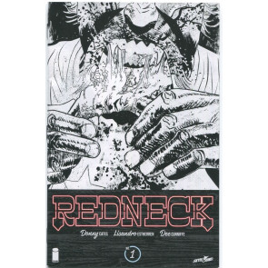 Redneck (2017) #1 VF/NM-NM Silver Gold Ashcan Covers + Variants Lot of 7 Books