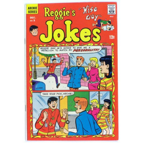 REGGIES JOKES #3 FN/VF ARCHIE