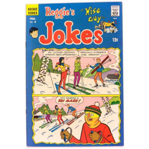 REGGIES JOKES #4 FN+ ARCHIE