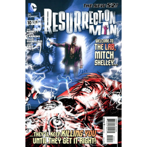 RESURRECTION MAN #10 VF+ - VF/NM THE NEW 52!