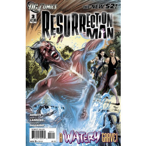 RESURRECTION MAN #3 VF+ - VF/NM THE NEW 52!