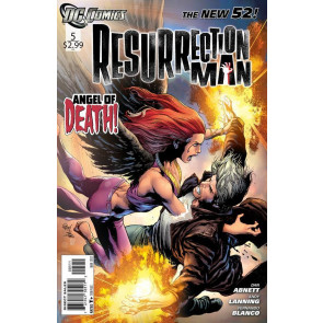 RESURRECTION MAN #5 NM THE NEW 52!