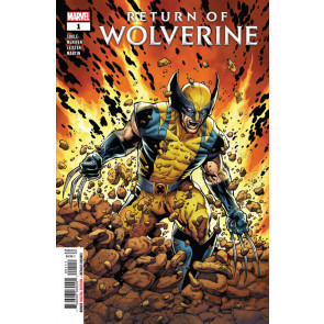 Return of Wolverine (2018) #1 VF/NM Steve McNiven Regular Cover