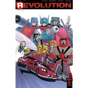 Revolution (2016) #2 of 5 VF/NM Tradd Moore Cover IDW
