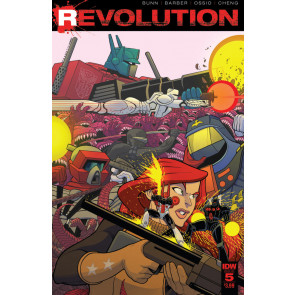Revolution (2016) #5 VF/NM Tradd Moore Cover IDW