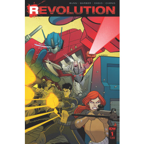 Revolution (2016) #1 VF/NM Tradd Moore Cover IDW