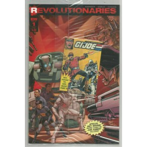 Revolutionaries (2016) #1 VF/NM Sub-A Subscription Cover A Sealed Micro Comic
