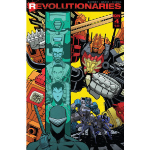 Revolutionaries (2017) #4 VF/NM Tradd Moore Cover IDW Transformers