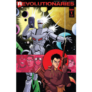 Revolutionaries (2017) #1 VF/NM Tradd Moore Cover IDW