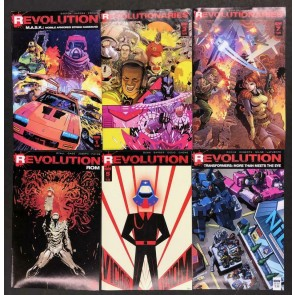 Revolution/Revolutionaries M.A.S.K. Rom Transformers Lot of 6 VF- Books IDW