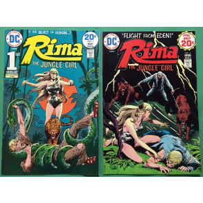 Rima The Jungle Girl (1974) 1 2 3 4 5 6 7 VF+ (8.5) complete high grade set DC