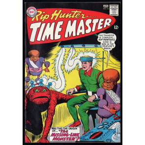 Rip Hunter Time Master (1961) #25 VF- (7.5)
