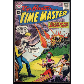 Rip Hunter Time Master (1961) #6 FN- (5.5) Alex Toth Art