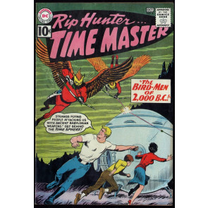 Rip Hunter Time Master (1961) #4 FN+ (6.5)