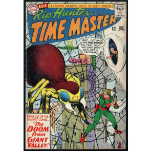 Rip Hunter Time Master (1961) #29 FN (6.0) Gil Kane giant spider cover