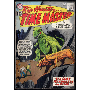 Rip Hunter Time Master (1961) #7 FN- (5.5) Alex Toth Art