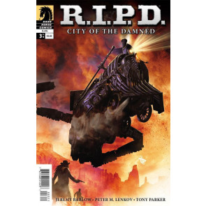 R.I.P.D: CITY OF THE DAMNED #3 OF 4 NM DARK HORSE COMICS