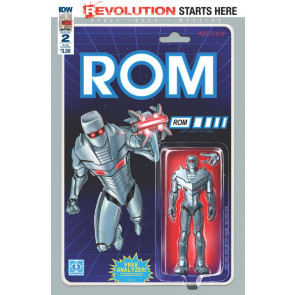 Rom (2016) #2 VF/NM Allred Layton Riches Rivera Howard Variant Cover Lot of 5