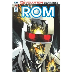 Rom (2016) #2 VF/NM Zach Howard Christos Gage IDW