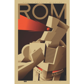 Rom (2016) #1 VF/NM Tom Whalen Cover Christos Gage IDW