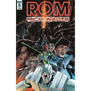 Rom & the Micronauts (2015) #5 of 5 VF/NM IDW