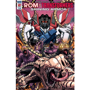 Rom vs Transformers: Shining Armor (2017) #2 VF/NM Transformers Rom IDW