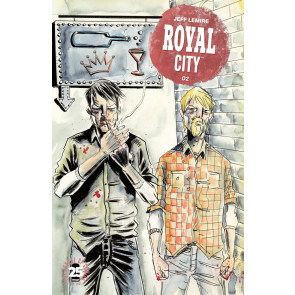 Royal City (2017) #2 VF/NM Jeff Lemire Image Comics