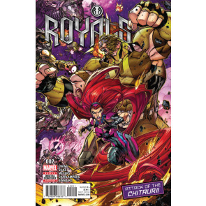 Royals (2017) #2 VF/NM Jonboy Cover