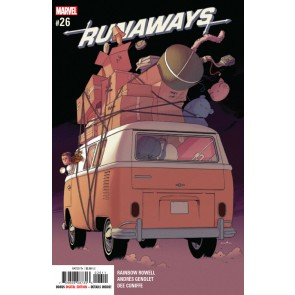Runaways (2017) #26 VF/NM Kris Anka Cover