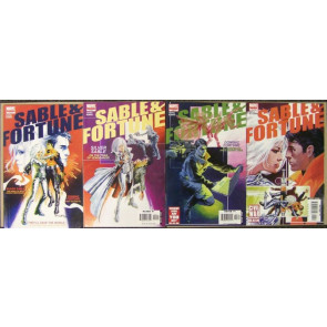 SABLE & FORTUNE #'s 1, 2, 3, 4 COMPLETE SET 2006