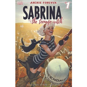 Sabrina the Teenage Witch (2019) #1 VF/NM-NM Adam Hughes Variant Cover Archie