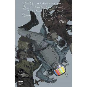 SAGA (2012) #12 VF/NM - NM 1ST PRINTING IMAGE COMICS VAUGHAN STAPLES