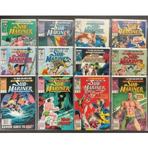 Saga of the Sub-Mariner (1988) #'s 1 2 3 4 5 6 7 8 9 10 11 12 Complete VF/NM Set