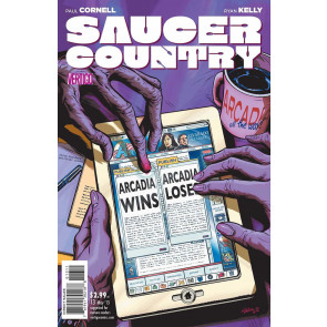 SAUCER COUNTRY #13 VF VERTIGO
