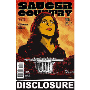 SAUCER COUNTRY #14 VF/NM FINAL ISSUE VERTIGO