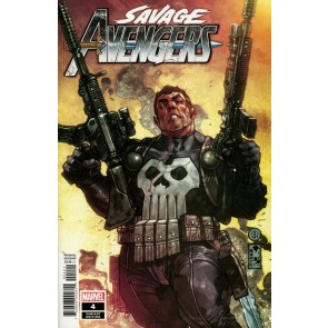 Savage Avengers (2019) #4 VF/NM Simone Bianchi Punisher Variant Cover