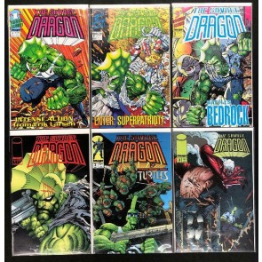 Savage Dragon (1993) #'s 1 2 3 + Variants Lot of 6 Books Erik Larsen TMNT Image