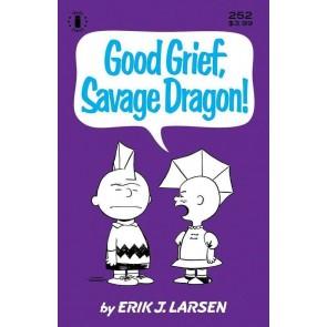 Savage Dragon (1993) #252 VF/NM Charlie Brown Peanuts Parody 3rd Print Variant
