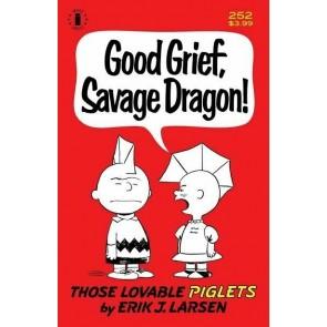 Savage Dragon (1993) #252 VF/NM Charlie Brown Peanuts Parody 2nd Print Variant