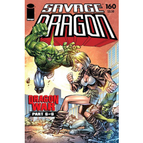 Savage Dragon (1993) #160 VF/NM Dragon Wars Part 6 of 6 Image Comics