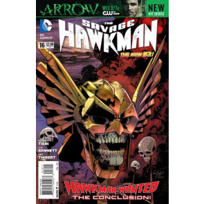 SAVAGE HAWKMAN (2011) #16 VF/NM THE NEW 52!