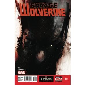 SAVAGE WOLVERINE (2013) #10 VF/NM MARVEL NOW! JOCK