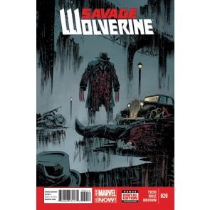 SAVAGE WOLVERINE (2013) #20 VF/NM MARVEL NOW!