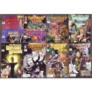 SAVANT GARD 1997 IMAGE COMICS COMPLETE NM SET OF 7 + SPECIALS WILDCATS