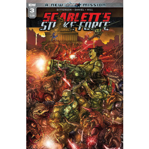 Scarlett's Strike Force (2017) #3 VF/NM IDW