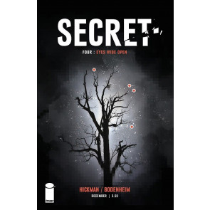 SECRET #4 VF/NM JOHNATHAN HICKMAN IMAGE COMICS